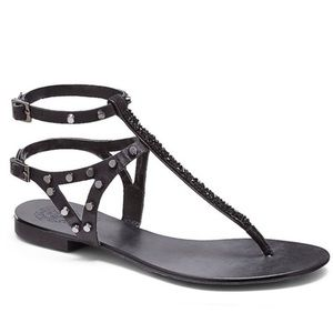 Vince Camuto Studded and Sequin Sandal